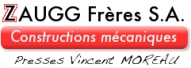 LOGO ZAUGG - Presses MOREAU